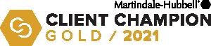 Image: Martindale-Hubble Client Champion Gold