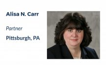 Alisa Carr, Litigation Partner